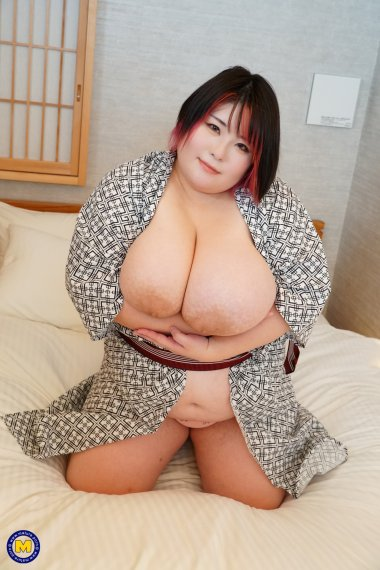 Huge breasted Asian mom fucking and sucking