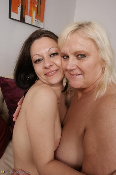These naughty old and young lesbians go wild