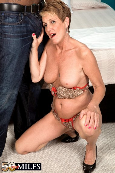 Hot MILF Misty Luv playing with her lover