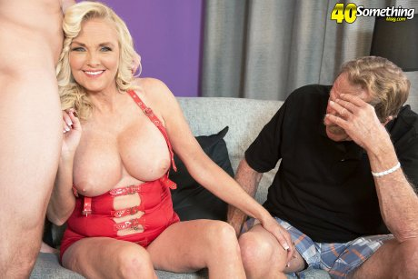 Sara's First Time...while Her Cuckold Hubby Watches