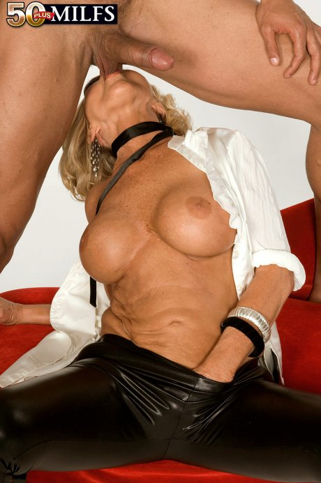 Sexy hot big boobed MILF fucking with her toyboy
