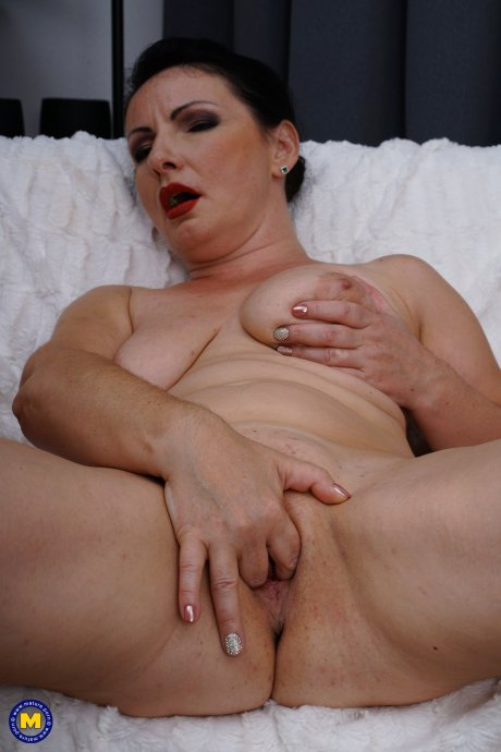 This naughty lady loves to play when shes alone